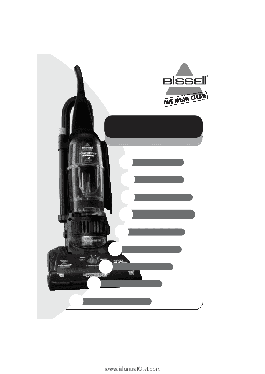 bissell powerforce compact instruction manual