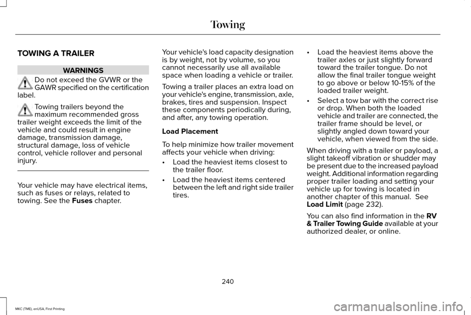 2016 lincoln mkc owners manual