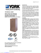 york yvaa chiller troubleshooting manual