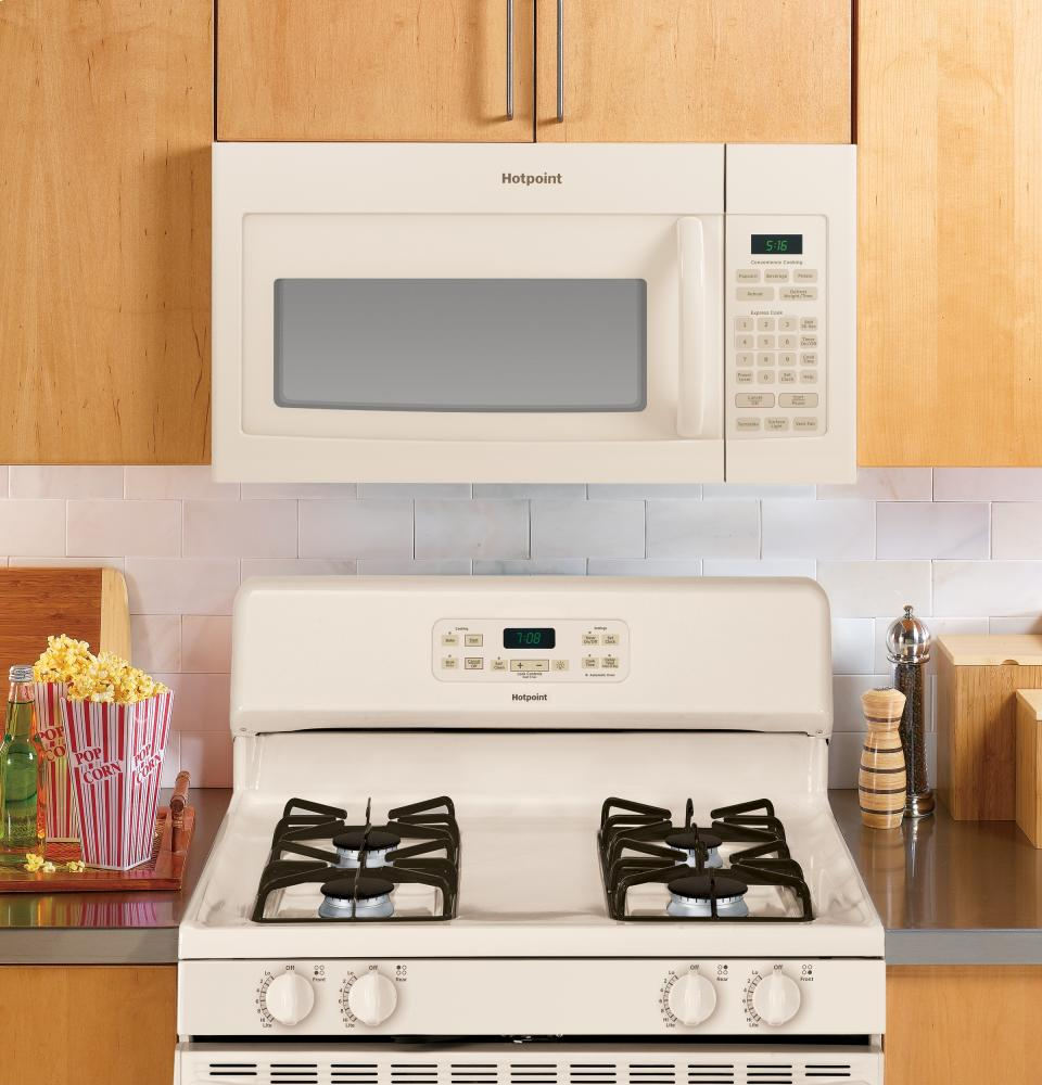 hotpoint over the range microwave manual