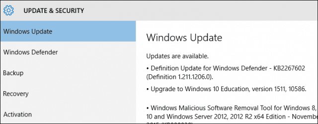 how to install windows 10 updates manually