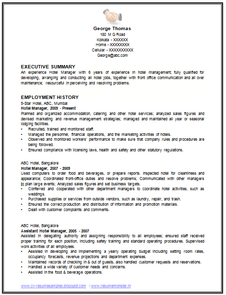restaurant manager manual free download