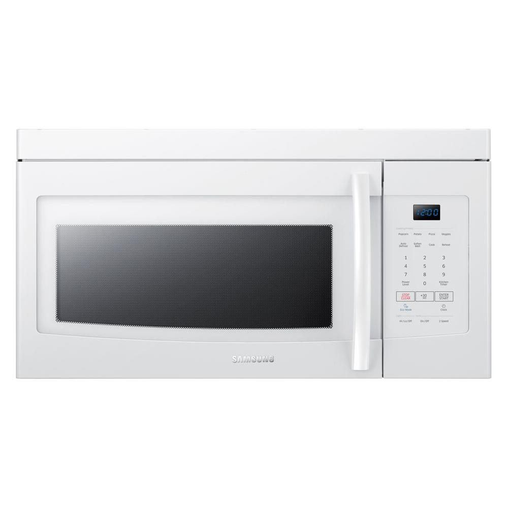 samsung over the range microwave oven manual